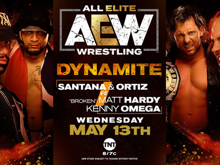 AEW DYNAMITE Preview for May 13, 2020