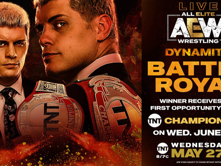 AEW DYNAMITE Preview for May 27, 2020
