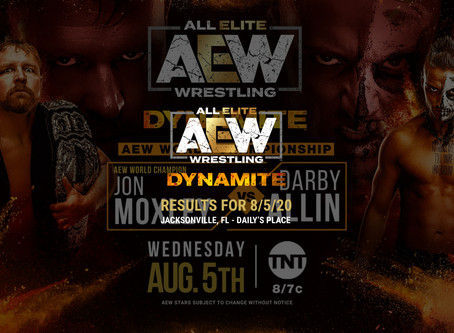 AEW Dynamite Results for August 5, 2020