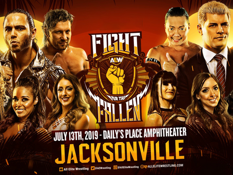 Official AEW Fight For The Fallen Preview