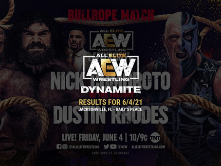 AEW Dynamite Results for June 4, 2021