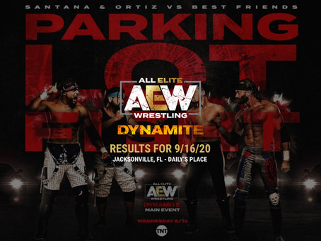 AEW Dynamite Results for September 16, 2020