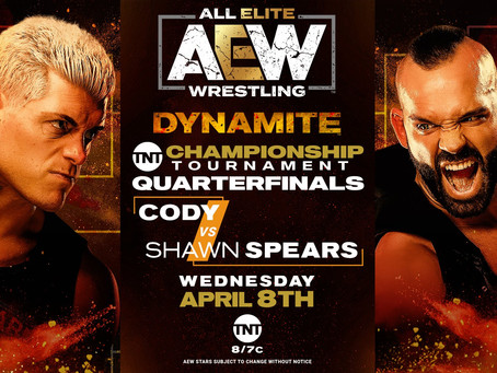 AEW DYNAMITE Preview for April 8th, 2020