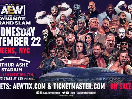 AEW Dynamite: Grand Slam NYC Tickets On Sale Now