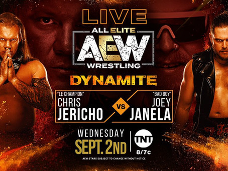 AEW Dynamite Preview for September 2, 2020