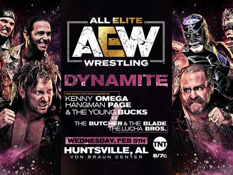 AEW DYNAMITE Preview for February 5th