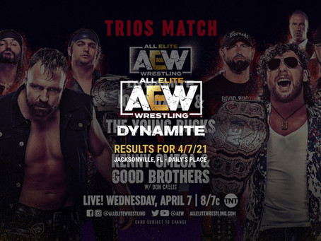 AEW Dynamite Results for April 7, 2021