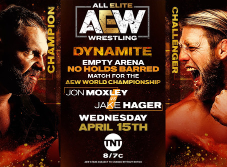 AEW DYNAMITE Preview for April 15th, 2020