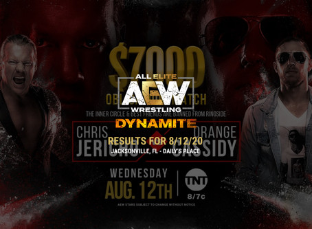 AEW Dynamite Results for August 12, 2020