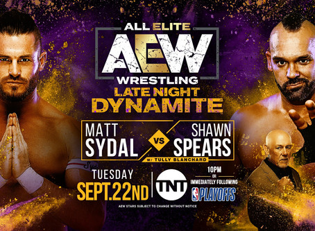 AEW Late Night Dynamite Results for September 22, 2020