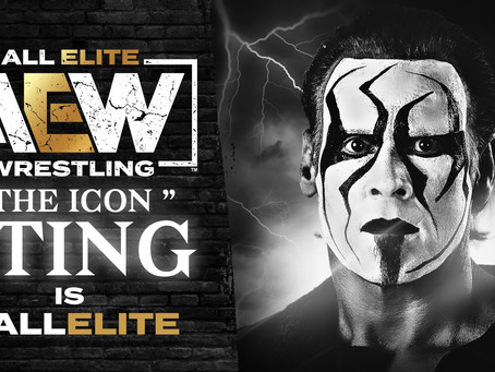 """The Icon"" Sting Signs With All Elite Wrestling"