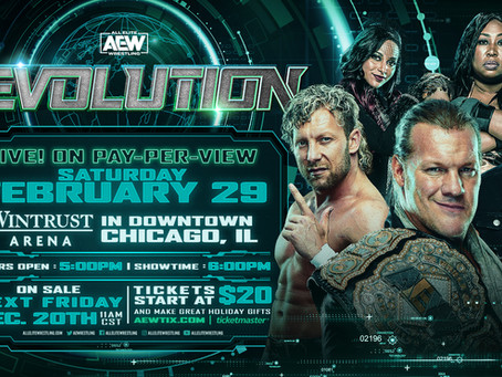 "AEW Announces ""REVOLUTION"" PPV Event in Chicago on Saturday, Feb. 29, 2020"