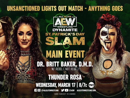 AEW Dynamite: St. Patrick's Day Slam Preview for March 17, 2021