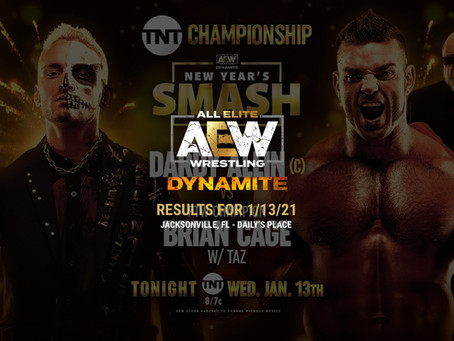 AEW Dynamite Results for January 13, 2021
