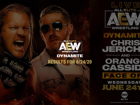 AEW DYNAMITE Results for June 24, 2020