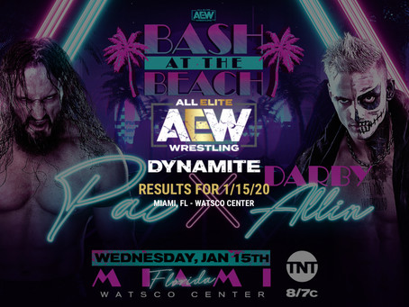 AEW DYNAMITE Results January 15, 2020