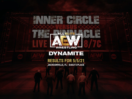 AEW Dynamite: Blood & Guts Results for May 5, 2021