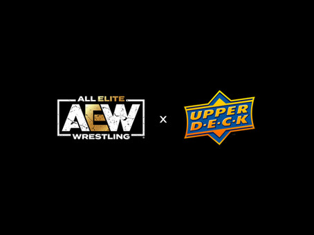 All Elite Wresting and Upper Deck Ink Multi-Year Exclusive Trading Card and Memorabilia Deal