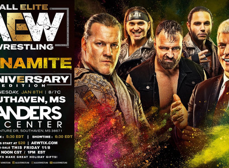AEW DYNAMITE Preview for January 8th