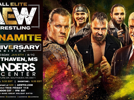 AEW Dynamite Comes To Greater Memphis Area For Anniversary Show. Tickets On-Sale Now!