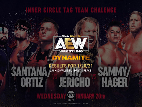 AEW Dynamite Results for January 20, 2021