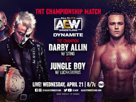 AEW Dynamite Preview for April 21, 2021