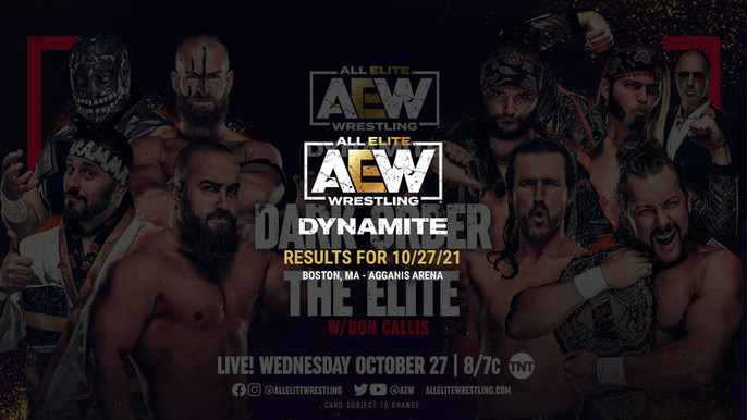 AEW Dynamite Results for October 27, 2021