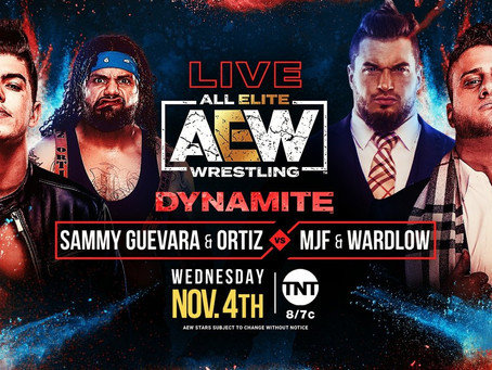AEW Dynamite Preview for November 4, 2020