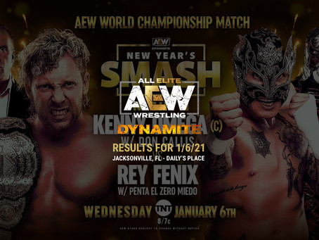 AEW Dynamite Results for January 6, 2021