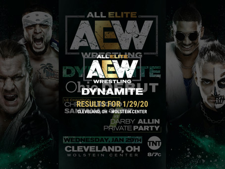 AEW DYNAMITE Results January 29, 2020