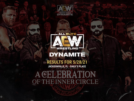 AEW Dynamite Results for May 28, 2021