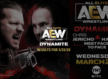 AEW DYNAMITE Results for March 25, 2020