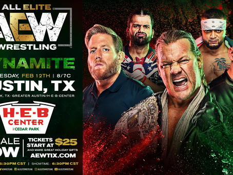 AEW DYNAMITE Preview for February 12th