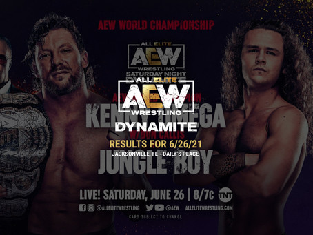 AEW Dynamite Results for June 26, 2021