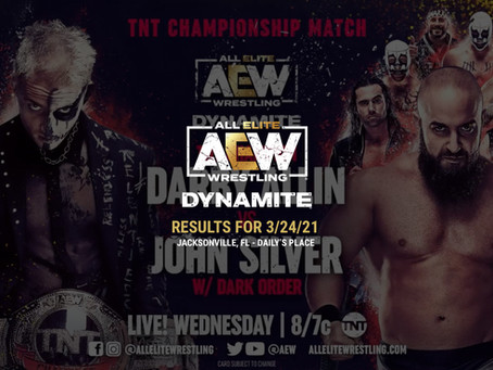 AEW Dynamite Results for March 24, 2021
