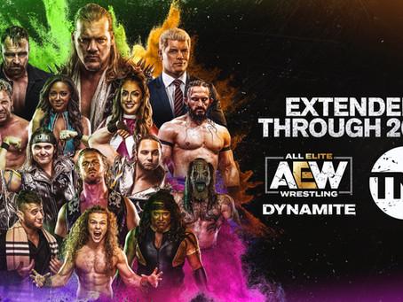 AEW: DYNAMITE Extended Through 2023