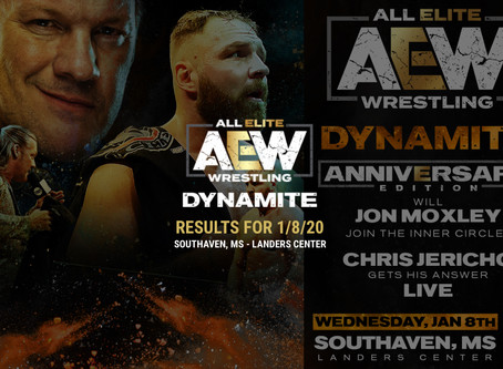 AEW DYNAMITE Results January 8, 2020