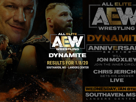 AEW DYNAMITE Results January 8, 2020