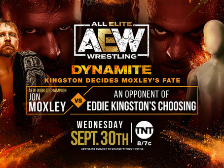 AEW Dynamite Preview for September 30, 2020