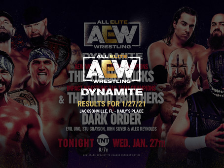 AEW Dynamite Results for January 27, 2021