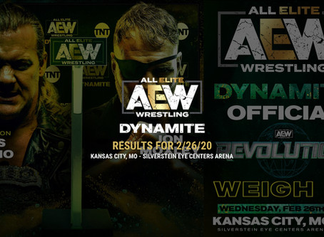 AEW DYNAMITE Results for February 26, 2020