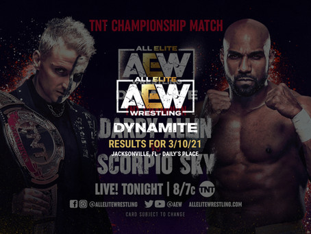 AEW Dynamite Results for March 10, 2021