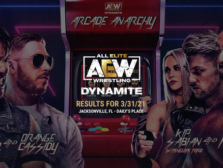 AEW Dynamite Results for March 31, 2021