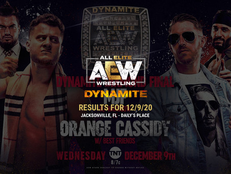 AEW Dynamite Results for December 9, 2020