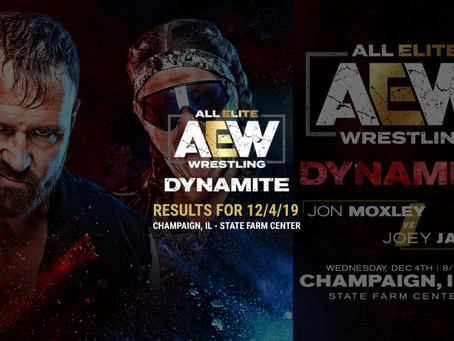 AEW DYNAMITE Results December 4, 2019