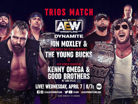 AEW Dynamite Preview for April 7, 2021