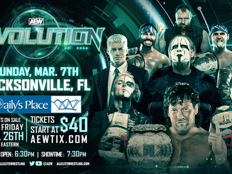 Tickets On Sale This Friday for AEW Revolution