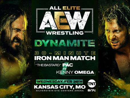 AEW DYNAMITE Preview for February 26th
