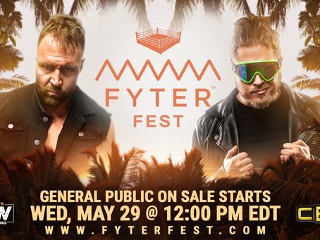Jon Moxley vs Joey Janela Announced For Fyter Fest. Tickets Go On-Sale Tomorrow