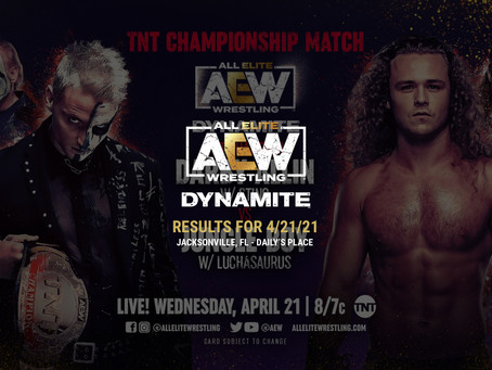 AEW Dynamite Results for April 21, 2021